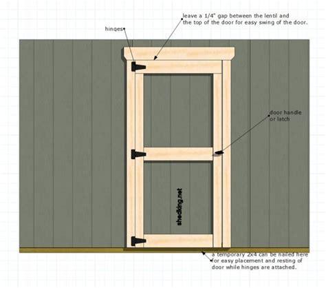 comprehensive plans  walk thrus  build shed doors