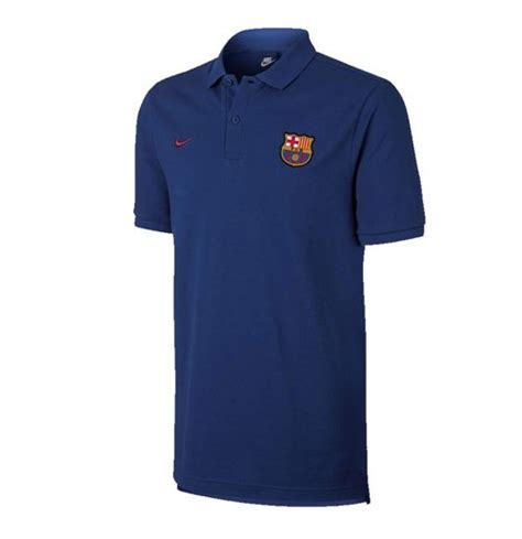 Polo Shirt Nike Barca 1 2017 2018 barcelona nike polo shirt obsidian for only c 63 99 at merchandisingplaza ca