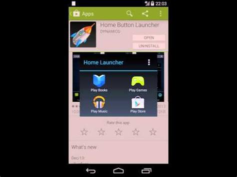 home button launcher android apps on play