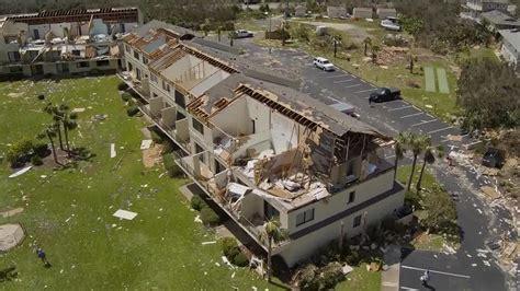 Possible tornado destroys condo buildings in Crescent Beach