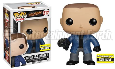 Funko Pop The Flash Captain Cold new pop vinyl is exclusively chill and after the flash