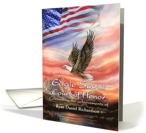 blank eagle scout cards templates free eagle scout court of honor invitation flag eagle