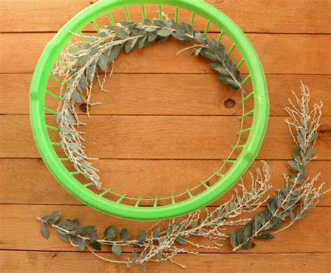 how to make a wreath base make wreath fast easy a dollar store hack a of