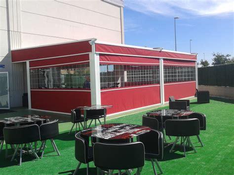 toldos para bares terrazas cerrramientos terrazas para restaurantes y bares madrid