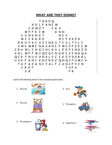 Picture Search For Crossword