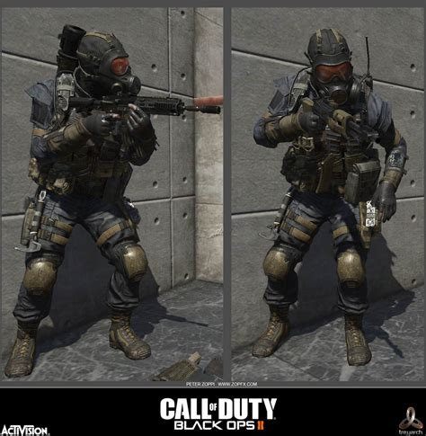 cod black ops 2 multiplayer characters peter zoppi character artist 187 call of duty black ops ii