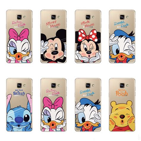 Casing Samsung A3 2017 Mickey And Minnie Mouse Custom aliexpress buy soft cases cover for samsung galaxy a5 2017 mickey tpu silicone