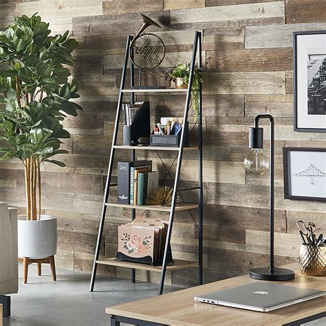 closetmaid wood shelf closetmaid 1312 4 tier wood ladder shelf