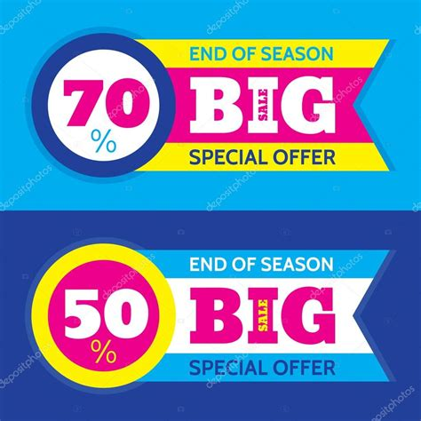 Sharma Designs 50 Sale by Big Sale Abstract Vector Horizontal Banner Special Offer
