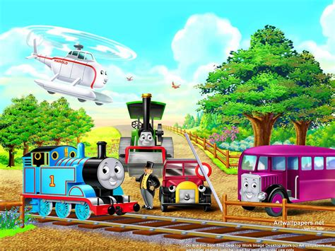 thomas  friends wallpaper wallpapersafari