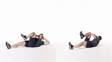 bicycle crunches the best abs exercise according to ace coach