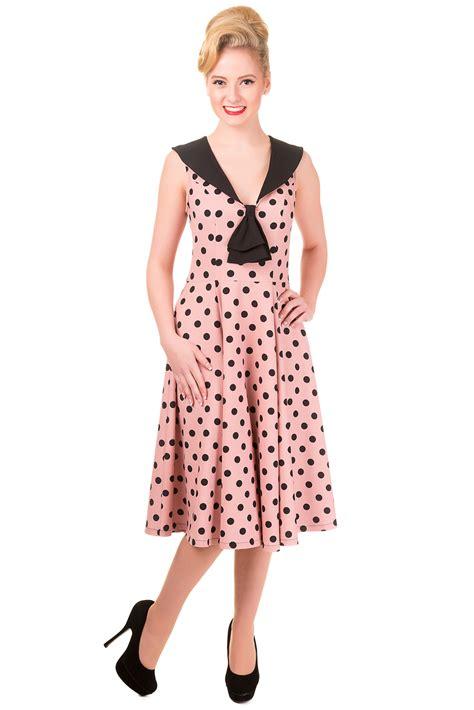 Dress Anak Polka Pink banned vintage pink polka dot rival dress rockabilly dresses 40 s styles