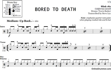 Drum Canon Rock Tutorial | drum canon rock tutorial bored to death blink 182 drum