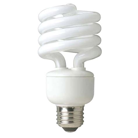 Ac 3 4 Pk Watt ecosmart 100 watt equivalent spiral cfl light bulb soft white 4 pack esbm823ts4 the home depot