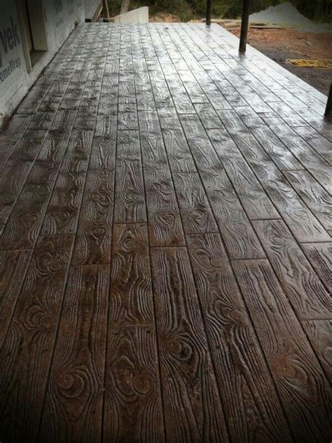 Wood Flooring On Concrete by Wood Sted Concrete Floors Amazing For The Homestead