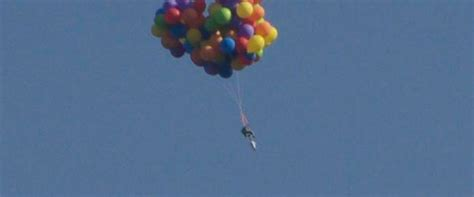 Lawn Chair Balloon by Canadian Arrested After Flying Lawn Chair With Helium