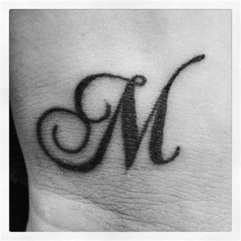 Tattoo Designs Alphabet M | the gallery for gt lady luck designs