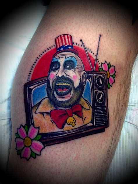 captain spaulding tattoo captain spaulding search ideas