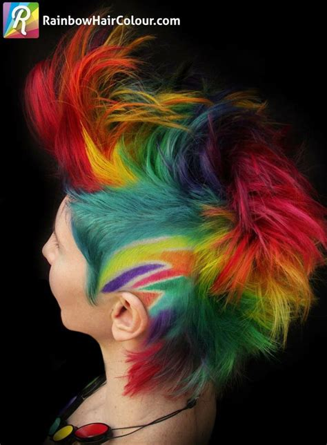 mohawk designs with color 2095 best images about short cuts on pinterest short