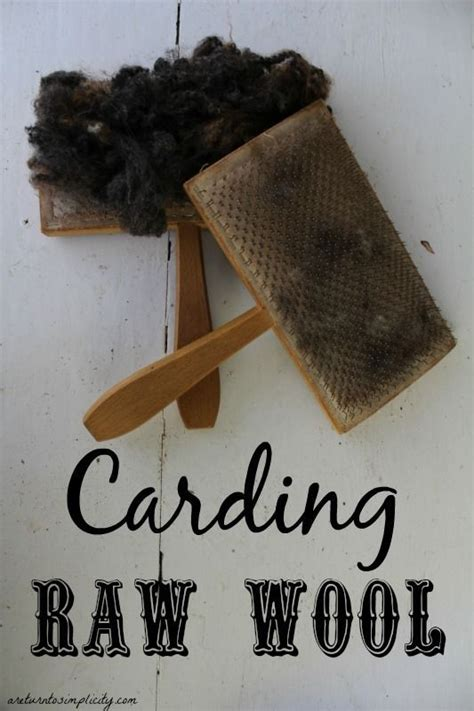 Carding Gift Card Tutorial - carding wool wool spin and pictures