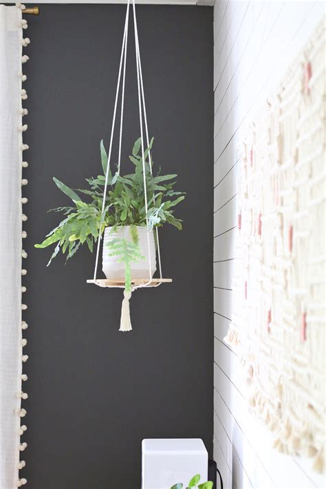 hanging plant diy 15 diy wood plant stand to make your space beautiful a