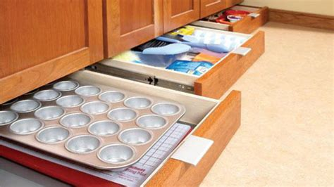 add a drawer under cabinet add extra storage to your kitchen with some under cabinet