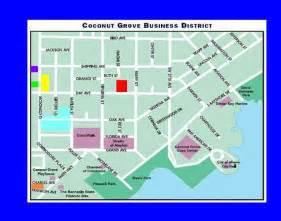 map of coconut grove miami florida www