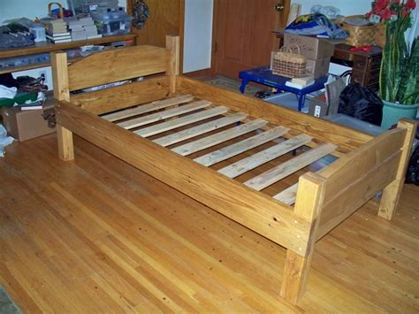 simple bed frame simple twin bed frame diy images