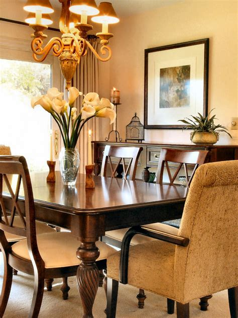 soft eclectic home traditional dining room los