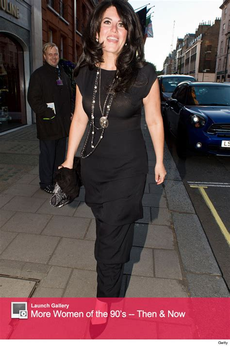 Bill Clinton House by Monica Lewinsky Goes Glam At The Spring Gala In London