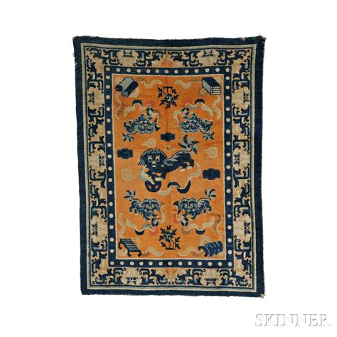buddha rug buddhist rug sale number 2762b lot number 579 skinner auctioneers