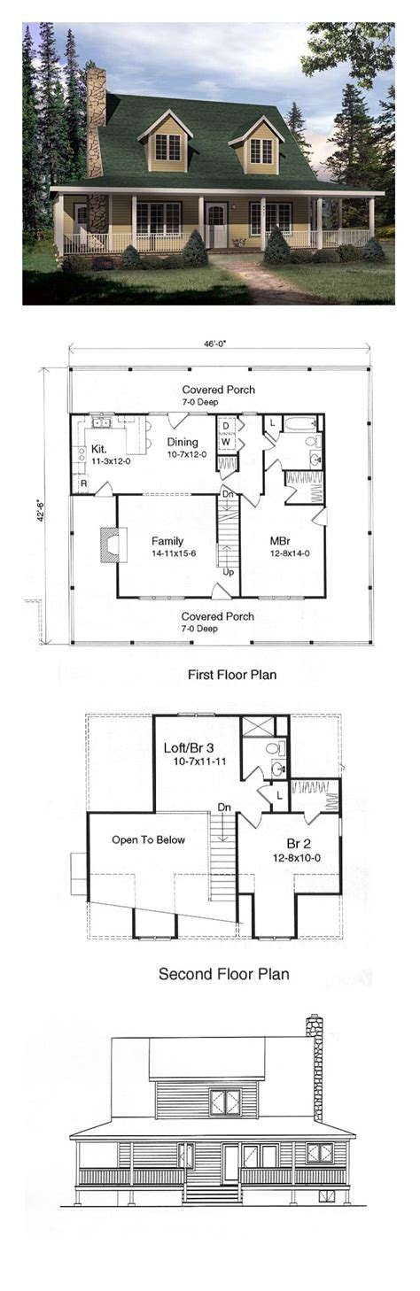 cape cod floor plans with loft cape cod house plan 49152 bar chang e 3 and the loft