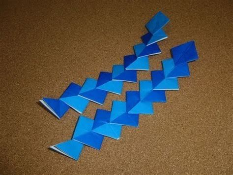 Tanabata Origami - daily origami 024 tanabata river cool stuff