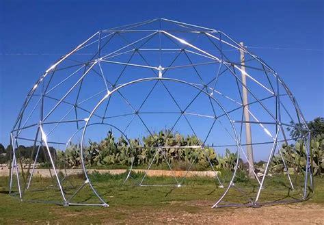 cupola geodetica cupola geodetica geodesic dome gazebo a lecce