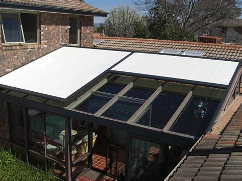 conservatory awning batemans bay canberra south coast blinds awnings louvres external shading