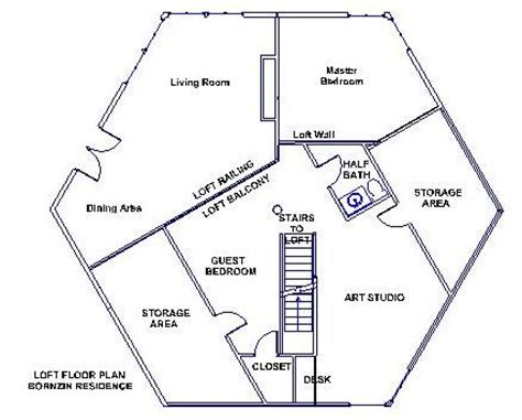 hexagon house floor plans hexagon house floor plans google search hexagon home