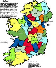 printable map ireland counties