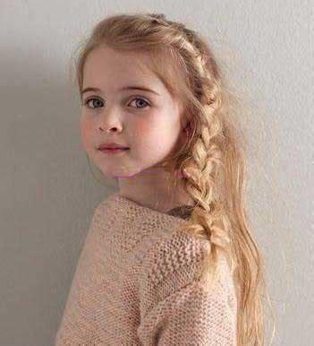 anglo saxons hair stiels مدل موی دختر کوچولوها