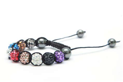 resin rhinestone shamballa bracelet kit inc
