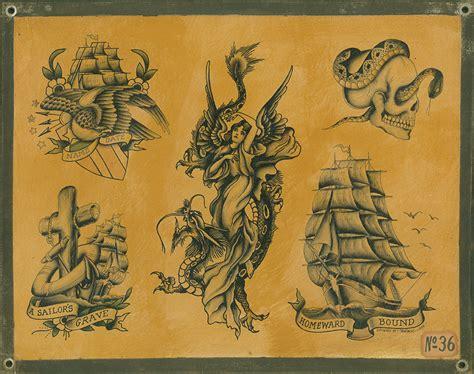 paint tattoo flash joe swanson gotham ink the magazine antiques