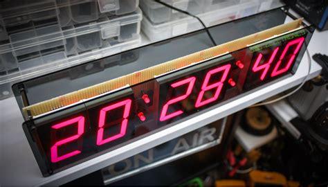 digit led clock sdg electronics