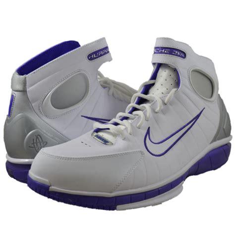 nike huarache 2k4 basketball shoes nike mens air zoom huarache 2k4 white basketball shoes sz