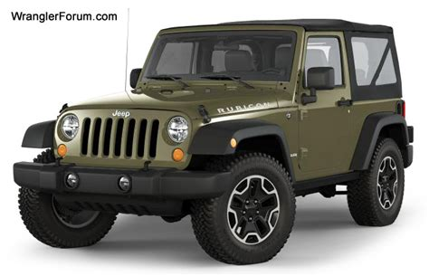 Gallery Olive Green Jeep Wrangler 2014