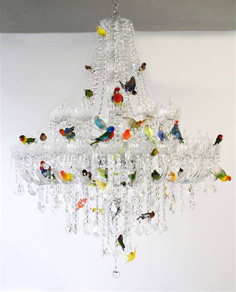 designboom tumblr xl bird chandelier by sebastian errazuriz the dancing rest