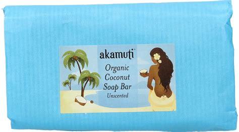 Coconut Soap 100g akamuti organic coconut soap bar unscented 100 g ecco