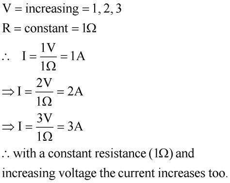 relationship between resistors and current the aim of this experiment is to investigate the relationship between the current voltage and