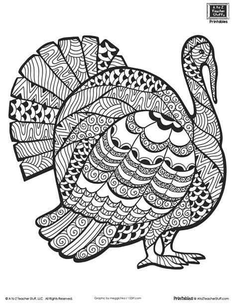 thanksgiving coloring pages for adults advanced coloring page for students or adults