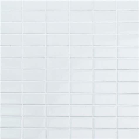 1 x2 ceramic mosaic tile wholesale 1 quot x2 quot glossy stack bond ceramic mosaic