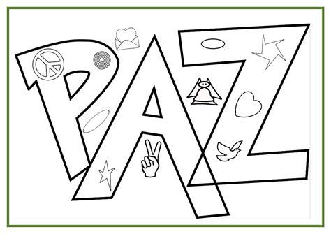 imagenes para dibujar sobre la paz dibujos para pintar del d 237 a de la paz y la no violencia