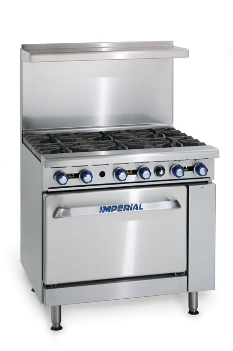 imperial commercial oven pilot light imperial range ir 6 restaurant range standard oven 6